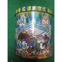 Bote De Aluminio Para Tus Tazos Sabrítas Colección Retro