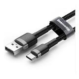 Cable Datos Carga Rápida Tipo C Lighting Micro Usb Uso Rudo