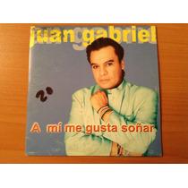 Juan Gabriel A Mi Me Gusta Soñar Cd Sencillo Promo