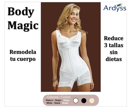 Faja Body Magic Ardyss Remodela Y Reduce 3 Tallas Sin