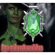 Collar Zelena Wicked Witch Oz Once Upon A Time Igo Coleccion