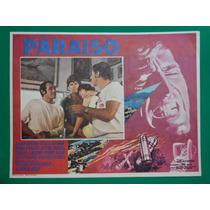 Jorge Rivero Paraiso Ofelia Medina Hector Suarez Cartel Cine