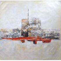 Pintura Abstracta Al Óleo: Chernobyl