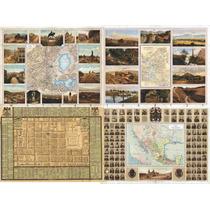 Mapa Antiguo Mexico Reproducciones Buena Calidad 60x40