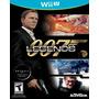 Agente 007 Legends Para Nintendo Wii U Nuevo Y Sellado