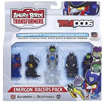 Angry Birds Transformers Telepods Figure Pack Energon Racers