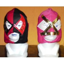 Mascaras De Luchador Economicas Paquete 10 Piezas