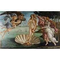 Lienzo Tela Nacimiento De Venus 140 X 225 Sandro Botticelli