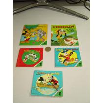 Vintage Cuentos De Walt Disney Fernández Editores 5 Piezas