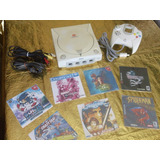 Consola Dreamcast Completa, Cables, Control, 4 Juegos Gratis