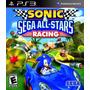 Ps3 - Sonic All Star Racing (acepto Mercado Pago Y Oxxo)
