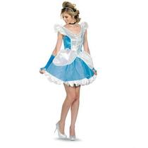 Disfraz Disney Cenicienta Mujer Talla Grande (12/14)