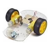 Kit Robot Educacional Carro Chasis Seguidor Sigue Lineas