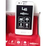 Celular Lg L45 Android 4.4.2 5mpx Dual Core Telcel