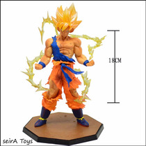 Figura De Goku Pvc Super Sayayin. Dragon Ball. Entrega Inmed
