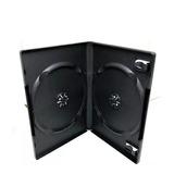 Estuche Dvd Doble Negro Para 2 Discos  14 Mm 50 Pzas Xmax