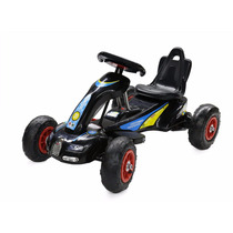 Power Wheels Racer Go Kart For Kids Pedal Car Outdoor Horn