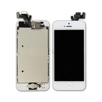 Pantalla Completa Iphone 5 Blanca Lcd Digitalizador Home Cam