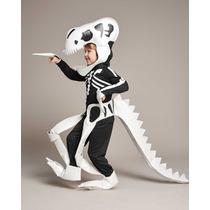 Disfraz Dinosaurio Esqueleto Halloween Talla 8 A 16