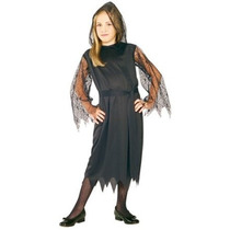 Vampire Costume - Chicas Gótico Encaje Vampiress Vestido De