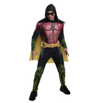 Disfraz Disfraz Robin Arkham Adulto Halloween Batman