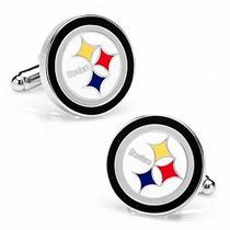 Mancuernillas Steelers Pittsburgh Football Americano Nfl
