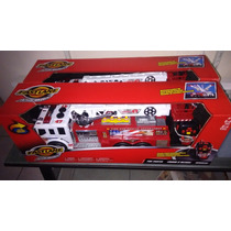 Camion De Bomberos Fast Lane Action Wheels Rc