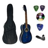Guitarra Acustica 3/4 Tercerola Varios Colores Para 8 Años..