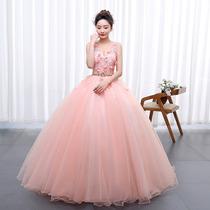 Vestido Xv Años Quinceañera Princesa Flores Tul Y Encajes En
