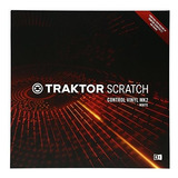 Native Instruments Traktor Scratch Control Vinyl Mk2 - Blanc