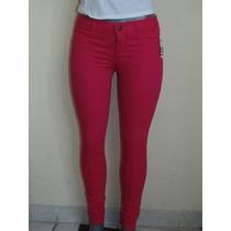 Pantalones Hollister Co. Skinny T-26 Stretch Nuevo Pink Blus