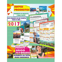 Calendarios Len 2017 Calendario De Cartulina Pared Serie D