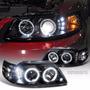 Focos Delanteros Mustang 99-04 Haro De Angel