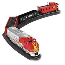 Tren Electrico Santa Fe Esc. Ho Bachmann Set Completo !