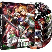 Highschool Of The Dead Serie + Ova Dvd Sub Español