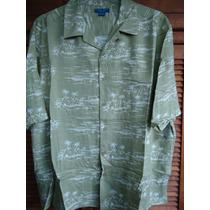 Hawaiana Camisa 2 Xl 100% Rayón. Puritan.