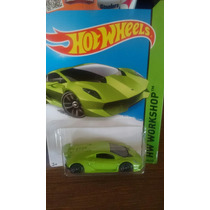Hotwheels Lamborghini Sesto Elemento Verde
