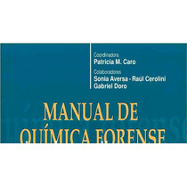 Manual De Química Forense Pdf