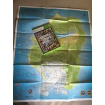 Grand Theft Auto V (5) Con Mapa Xbox 360