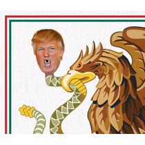 Playera: Águila Azteca Devorando A La Serpiente Donald Trump