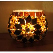 Portavela Chico De Mosaico, Portavela Decorativo