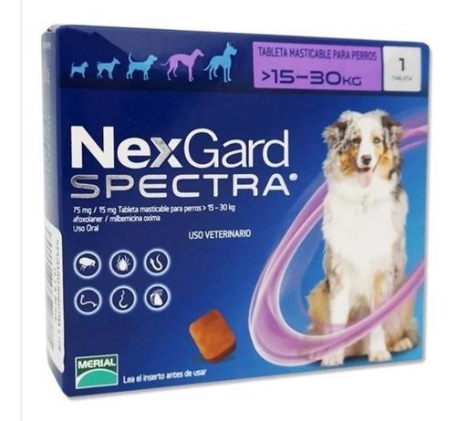 Nexgard Spectral 15.1 A 30kg Pastilla Masticable