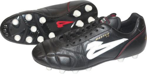 ae9ac99f309d9 Zapato De Futbol Olmeca Master Piel Kanguro