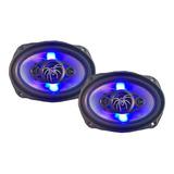 Soundstream Par De Bocinas 6x9 De 4 Vías Con Led 400 Watts