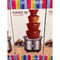 Fuente De Chocolate Queso 1 L 43cm A Meses!!!
