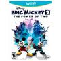 Vg - Epic Mickey 2 - El Poder De 2 Wii U