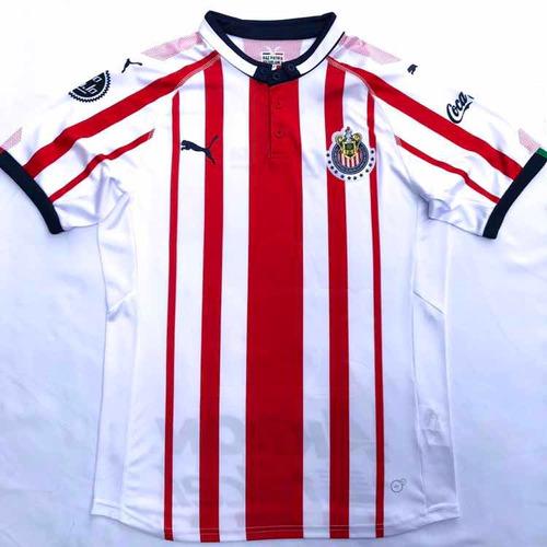 782162d72a946 Jersey Playera Chivas Local 2018-2019 Envio Gratis