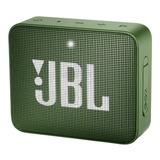 Bocina Jbl Go 2 Portátil Con Bluetooth Moss Green