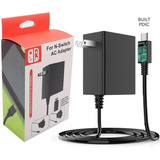 Ac Adapter De Nintendo Switch/lite Cargador  15v/2.6a 1.5m