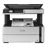 Impresora Multifunción Epson Ecotank M2170 Con Wifi 100v/240v Blanca Y Negra
